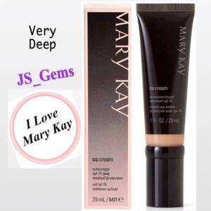 New Mary Kay Very Deep CC Cream